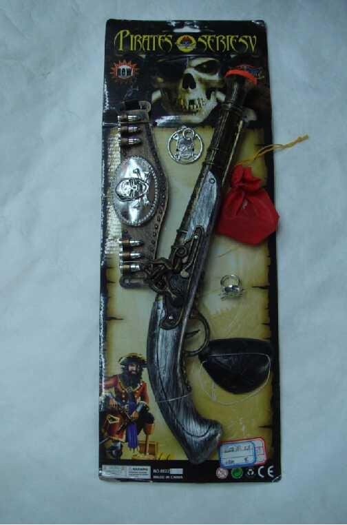 Piraten Pistool met accessoires kopen bij Vlaggenclub