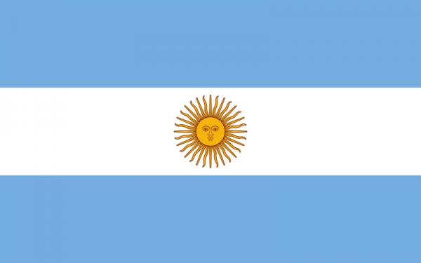 vlag Argentinië | Argentijnse vlaggen 150x225cm