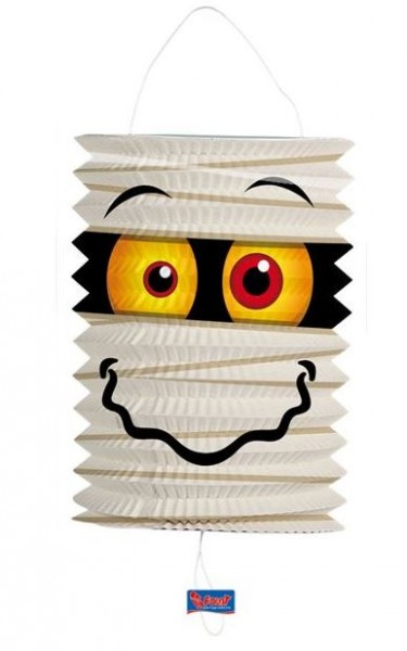 Halloween en Sint  Maarten Lampion met een grappige Mummy