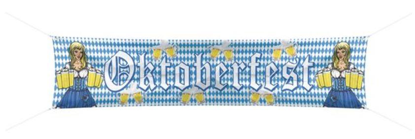 Banner Oktoberfest banier 40x180cm