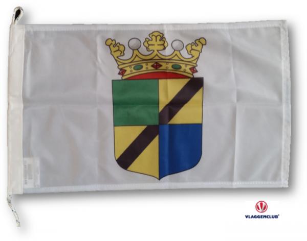 Vlag gemeente Westerveld met wapen 30x45cm