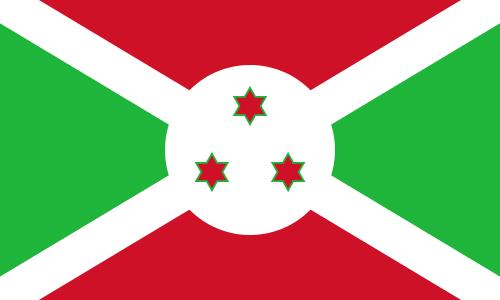 Tafelvlaggen Burundi 10x15cm | Burundese tafelvlag