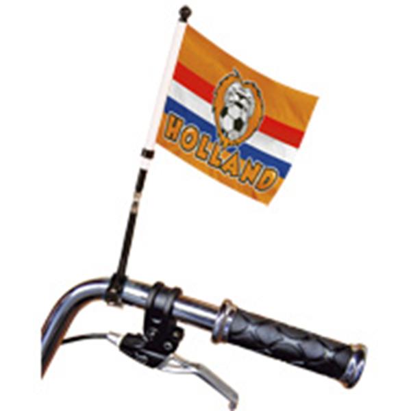Fietsvlag Oranje Holland EK | WK 15x20cm voor op je fiets of scooter