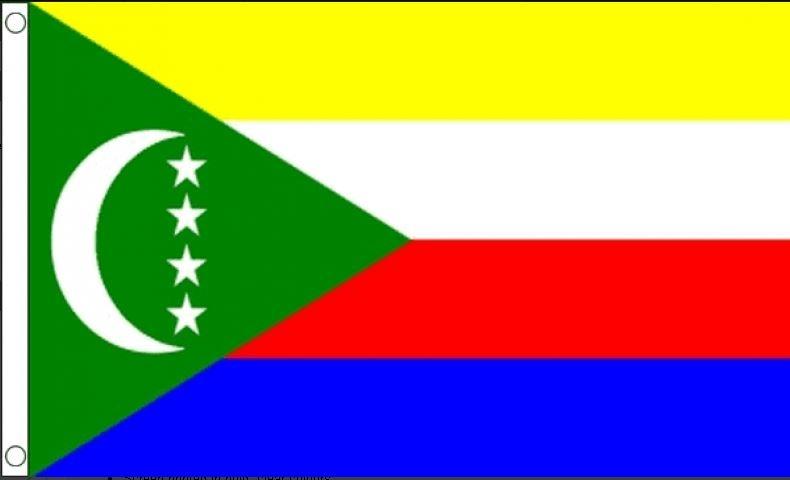 Vlag Comoren Best value 90x150cm