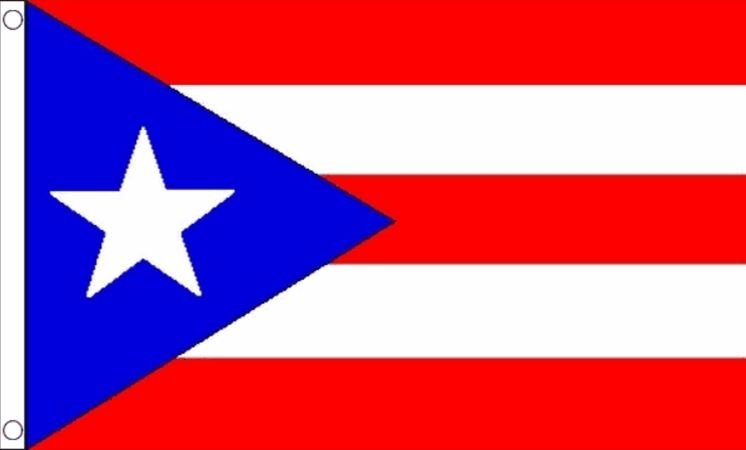 vlag puerto rico 90x150cm best value