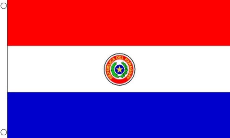 Vlag Paraguay I Paraguayaanse vlaggen 90x150cm best value