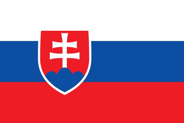 Tafelvlaggen Slowakije 10x15cm | Slowaakse tafelvlag