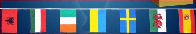 Slinger met 24 vlaggen Europa