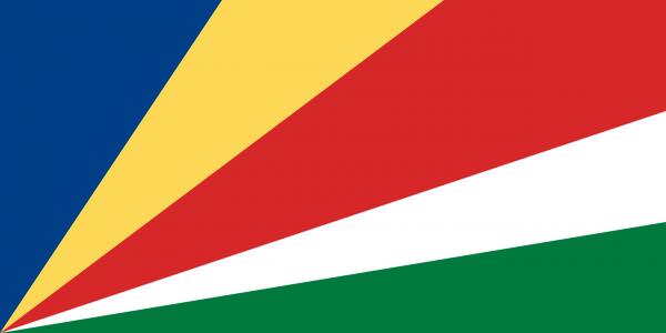 Vlag Seychellen 100x150cm Glanspoly