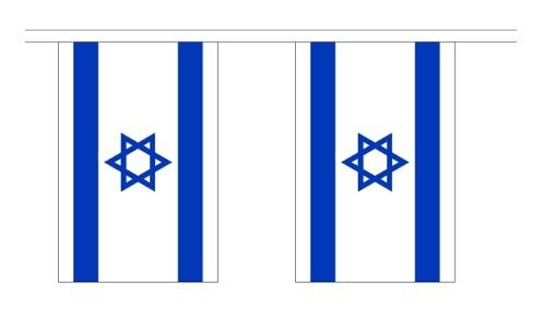 Israëlische vlaggenlijn Israel 3m