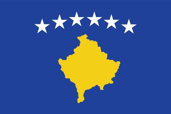 vlag Kosovo | Kosovaarse vlag 100x150cm