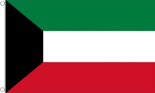 Vlag Koeweit 60x90cm