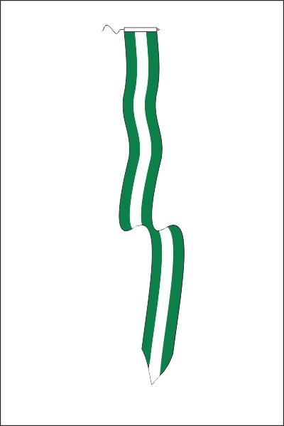 Wimpel Rotterdam 25x300cm met koord en lusje