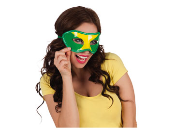 Brazilië Oogmasker Brazil WK