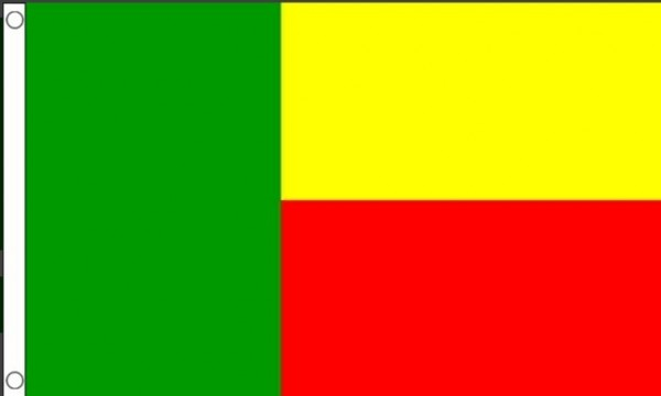 Benin vlag van Benin 90x150cm Best Value