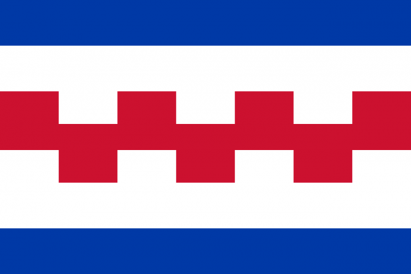 Grote vlag Renswoude