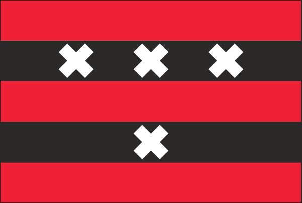 vlag Amstelveen 150x225cm Mastvlag