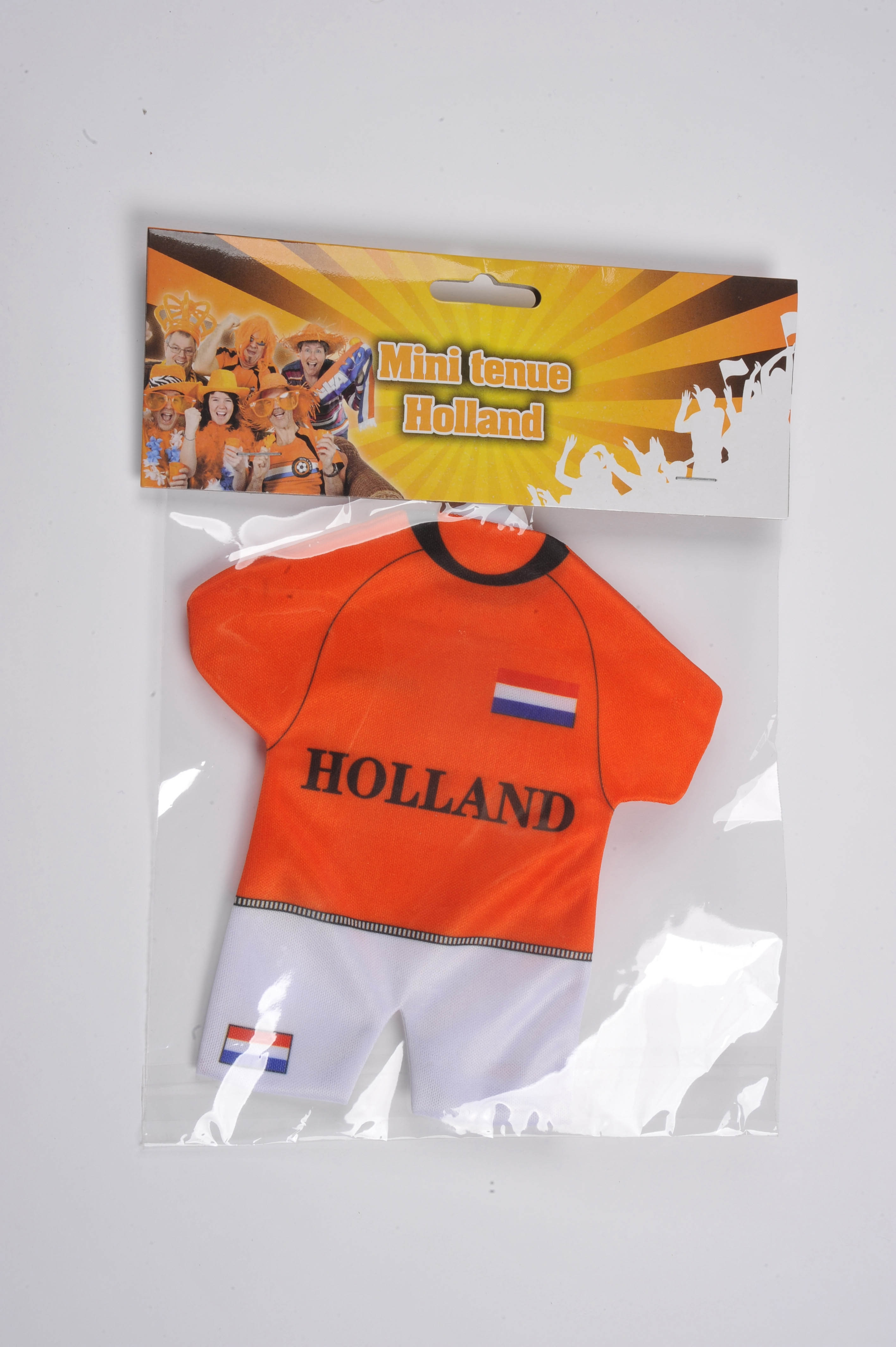 Autohanger Oranje tenue holland