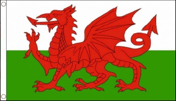 vlag Wales, Welsh, Welshe vlag 60x90 cm Best Value