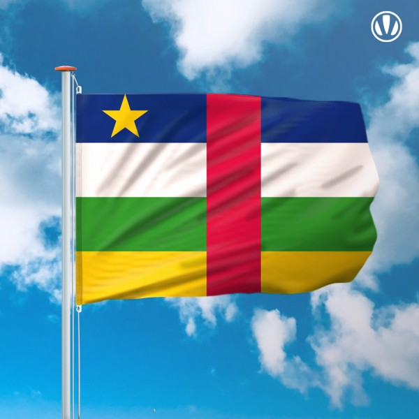Mastvlag Centraal-Afrikaanse-Republiek