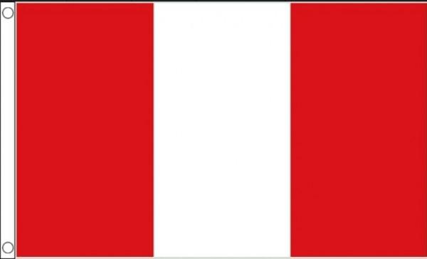 Vlag Peru I Peruaanse vlaggen Best Value 90x150cm