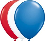 Rood Wit Blauwe ballonnen voor een leuk feestje