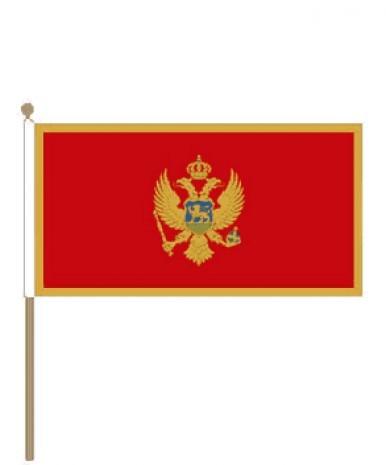 Zwaaivlag Montenegro 15x22,5cm | stof