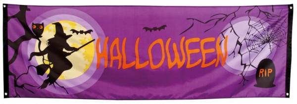 spandoek Halloween 74x220cm, banier, banner, Sint Maarten