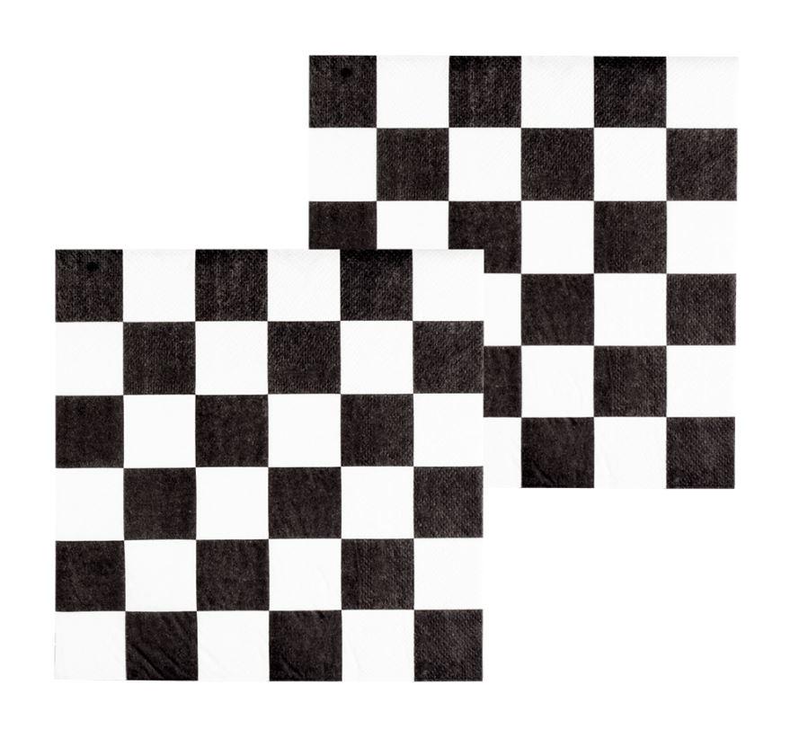 Race servetjes 33x33cm