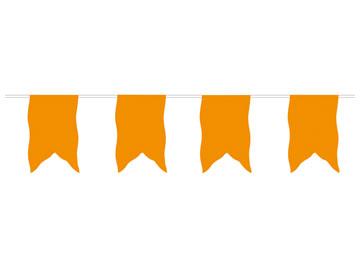 Oranje vlaggenlijn vaandel 10m