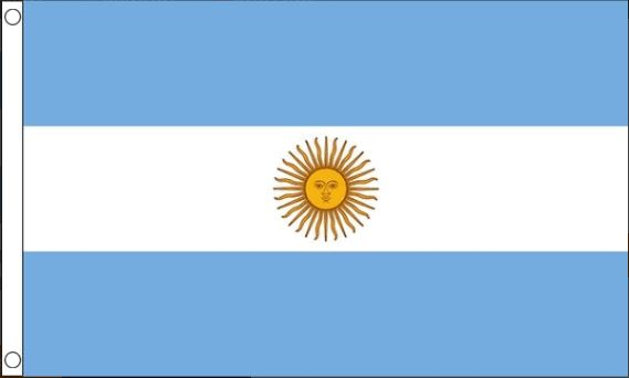 vlag Argentinië | Argentijnse vlaggen 90x150cm Best Value