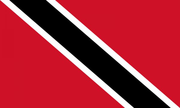 tafelvlaggen Trinidad en Tobago 10x15cm   Trinidad en Tobago tafelvlag