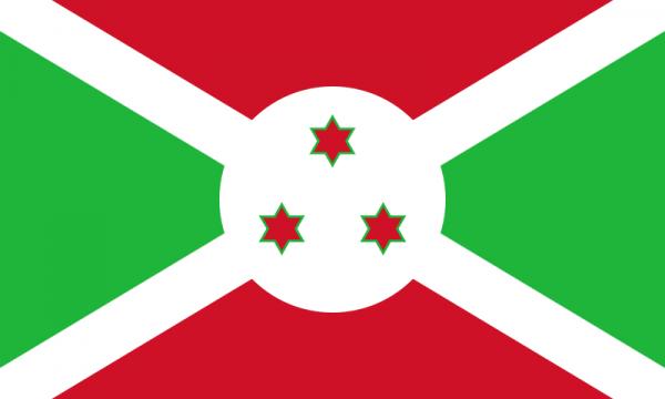 vlag Burundi 20x30cm vlaggen van Burundi