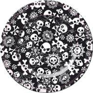 Horror Halloween papieren wegwerp bordjes borden