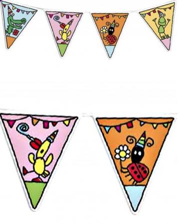 kinderfeest verjaardag vlaggenlijn 6m