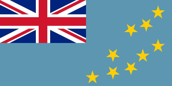 vlag Tuvalu   Tuvaluaanse vlaggen 100x150cm