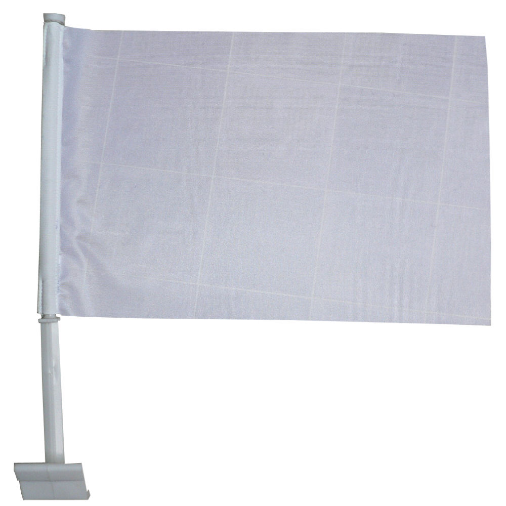 Luxe autovlag met uw trouwvlag