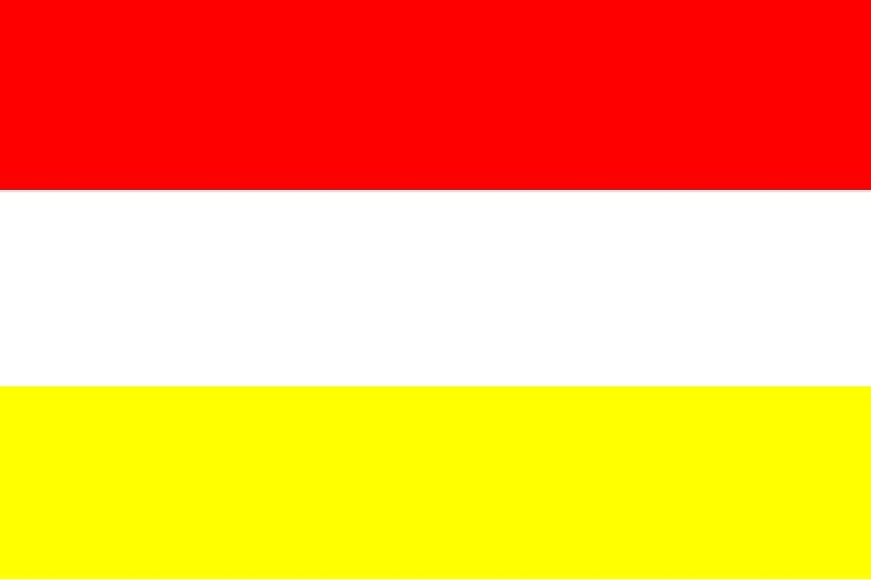 Oeteldonkse vlag 200x300cm voor in iedere grote vlaggenmast