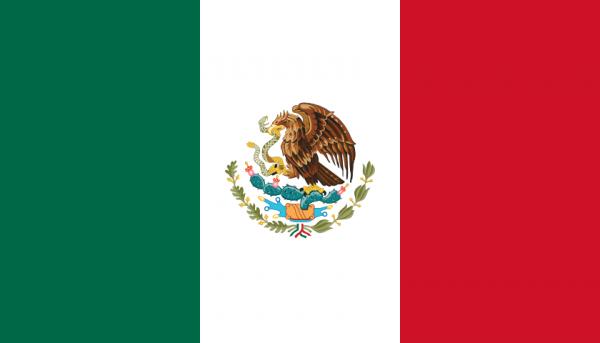 vlag Mexico | Mexicaanse vlaggen 100x150cm