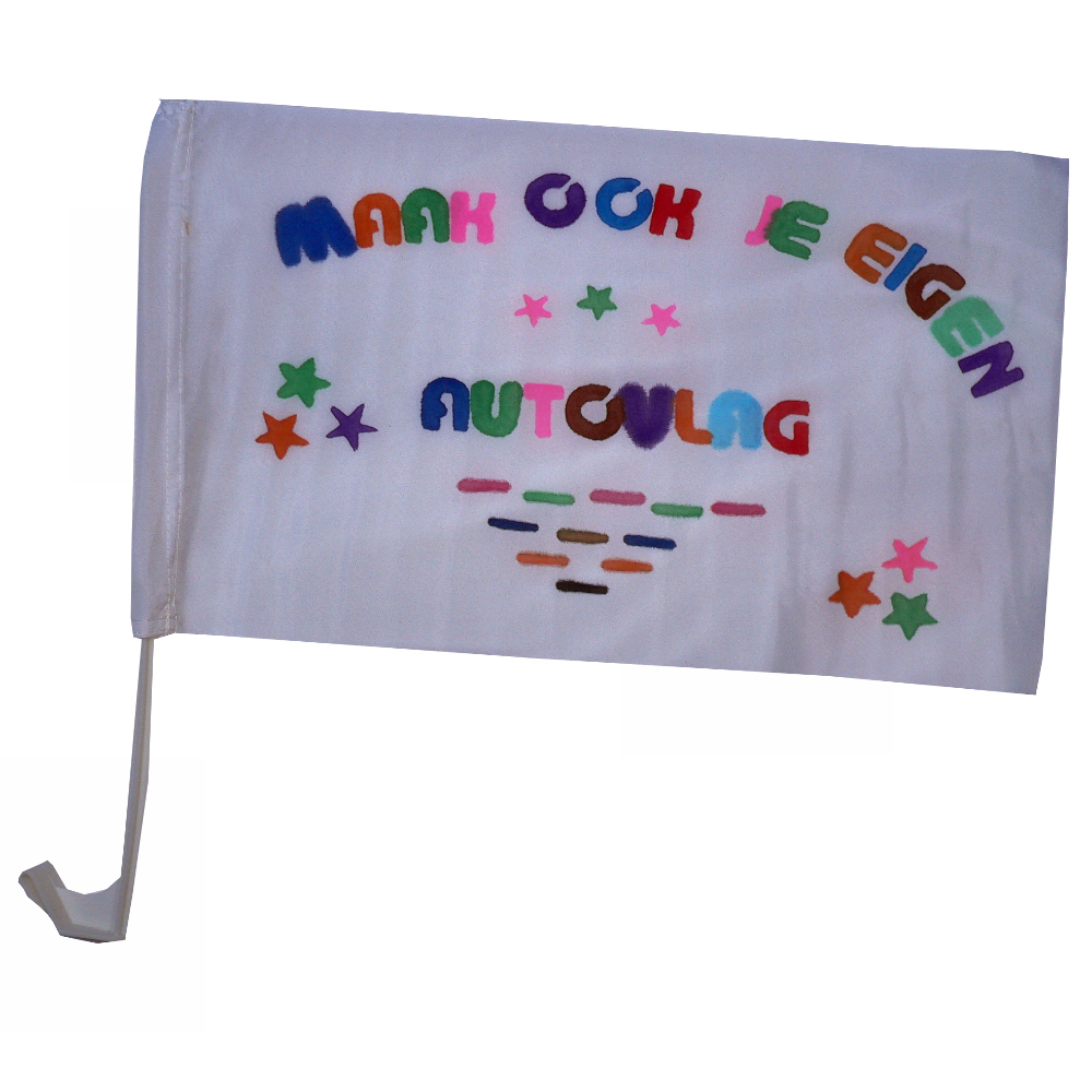 Maak je eigen autovlag pakket vlaggenclub