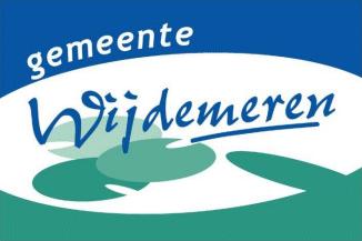 Vlag gemeente Wijdemeren | Wijdemeerse vlaggen 20x30cm