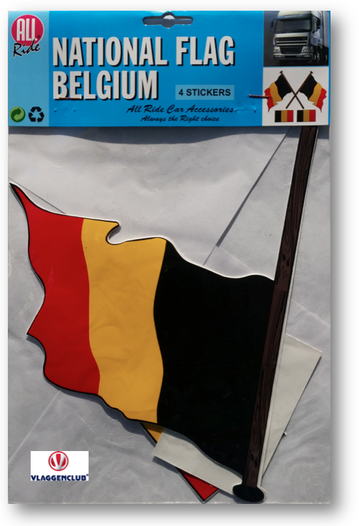 sticker belgische vlaggen