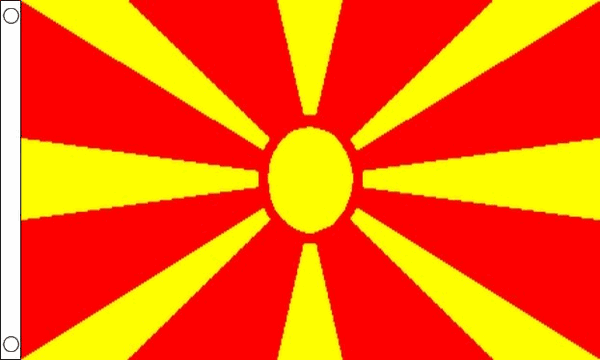 Vlag Macedonië 60x90cm