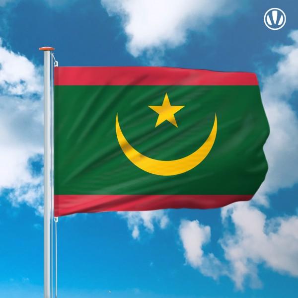 Mastvlag Mauritanie
