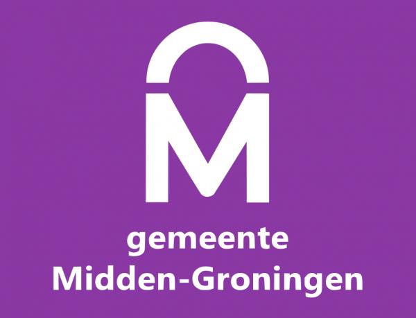 Grote vlag Midden-Groningen