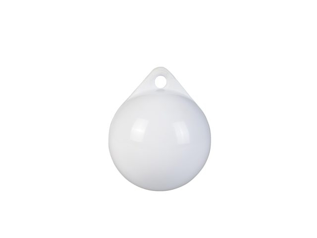 Vlaggewicht keesje werpgewicht kleur wit