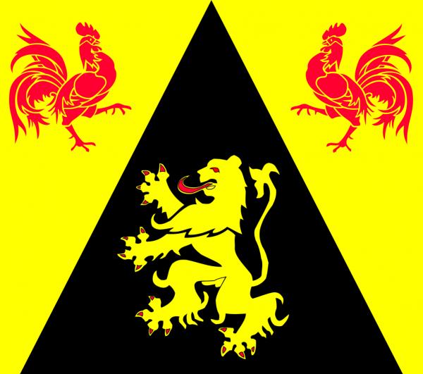 Vlag Waals-Brabant 100x150cm