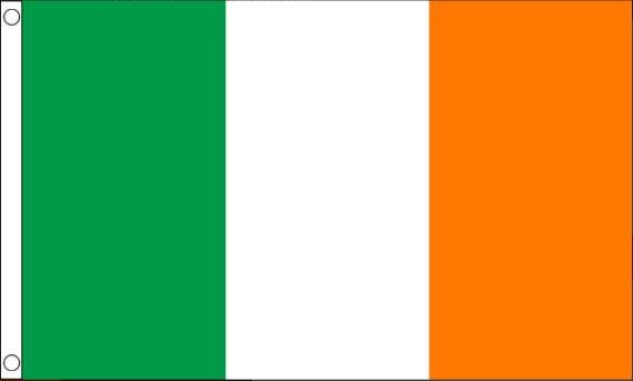 de ierse vlag 90x150cm koop je voordelig bij vlaggenclub!