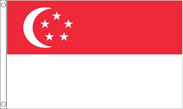 Vlag Singapore 60x90cm